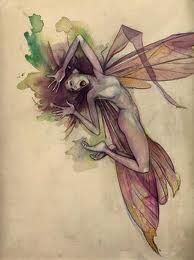 Image from Lady Cottington's Pressed Fairy Book by Brian Froud (Illustrator)